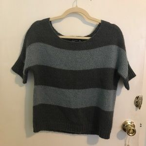 AE Color Block Knitted Sweater